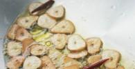今月のおすすめ料理:すっげーにんにくなパスタ